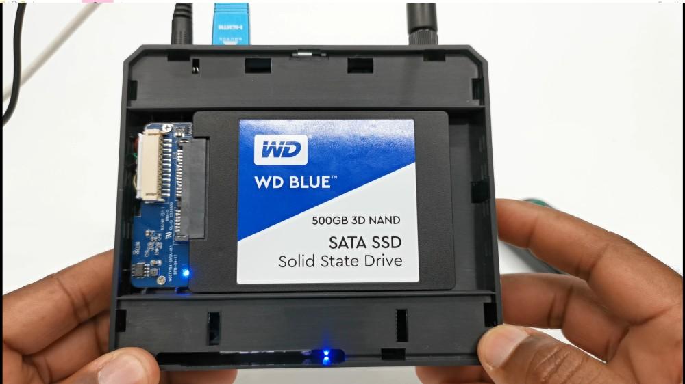 Magicsee N5 Plus SATA expansion Bay