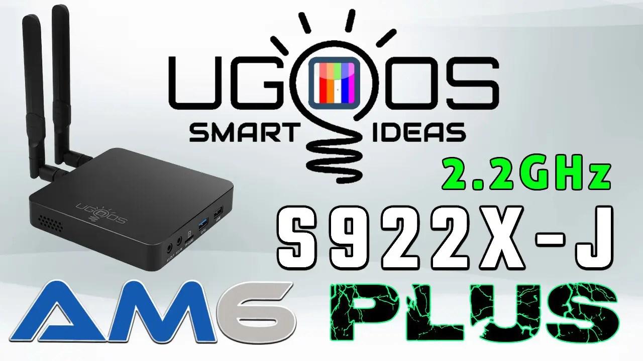 Ugoos AM6 Plus TV Box