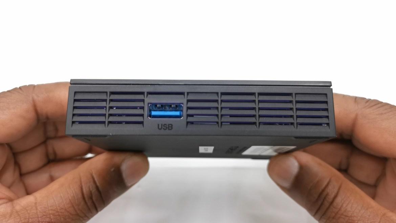 Tanix TX6S side ports