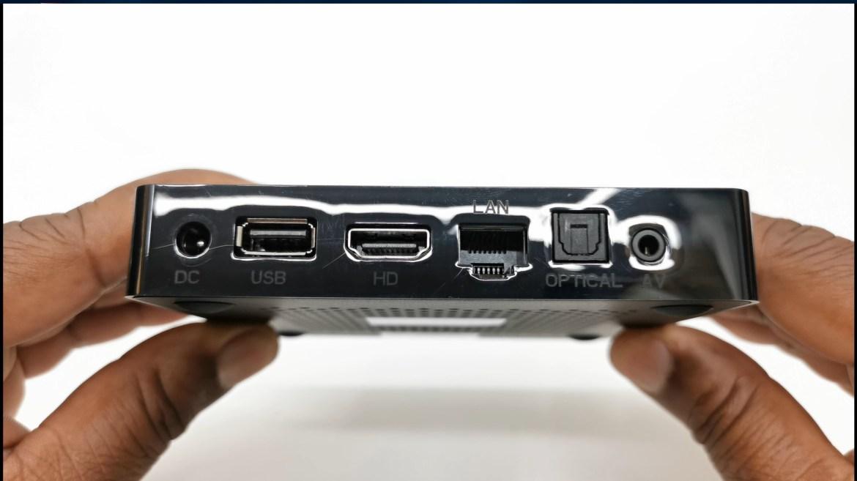 Magicsee N6 Plus Rear Ports
