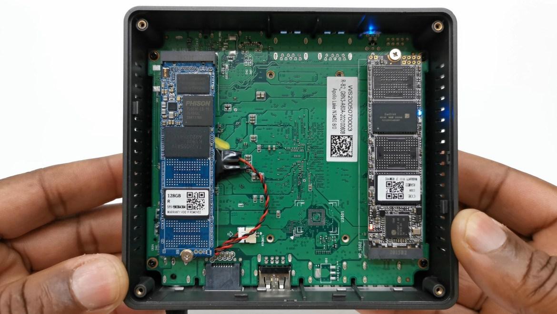 BMAX B2 M.2 SSD ports