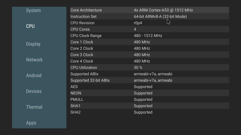 X96Q Max CPU Info