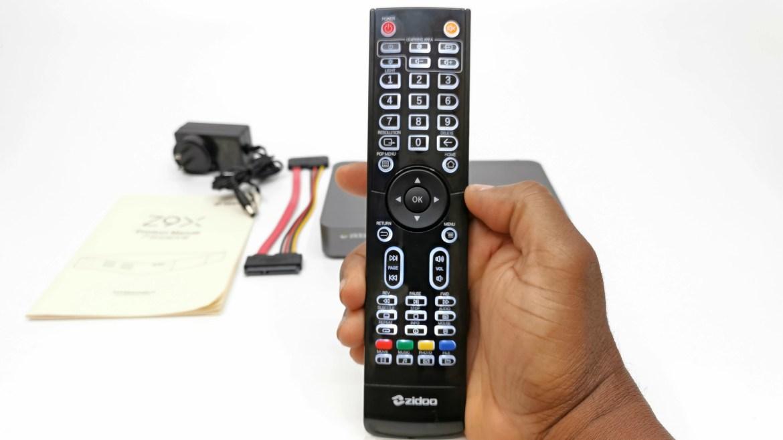 Zidoo Z9X backlit remote