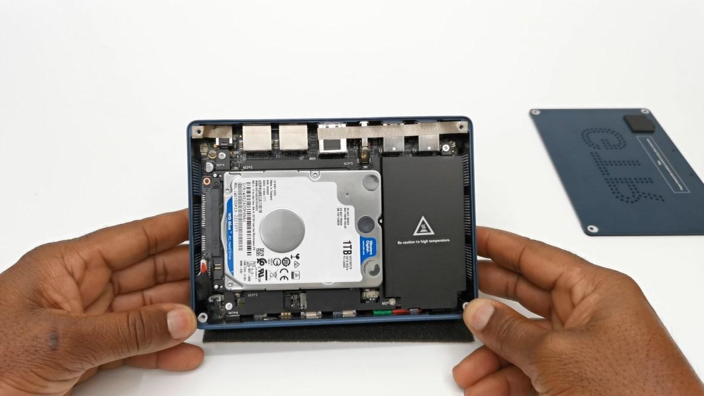 Beelink GTR Mini PC SATA HDD SSD port