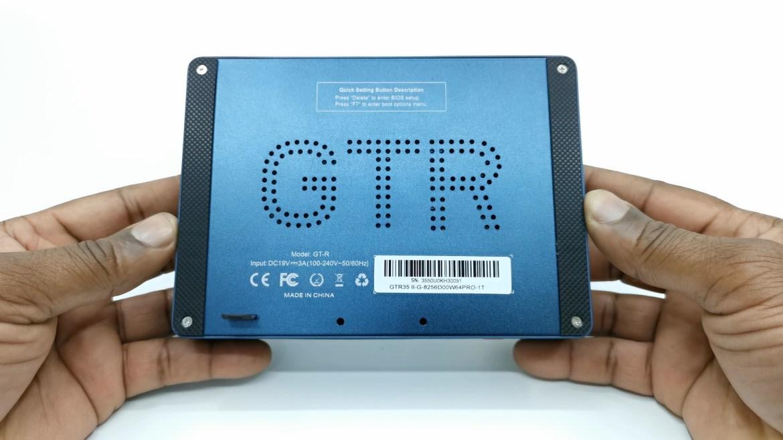 Beelink GTR Mini PC bottom panel