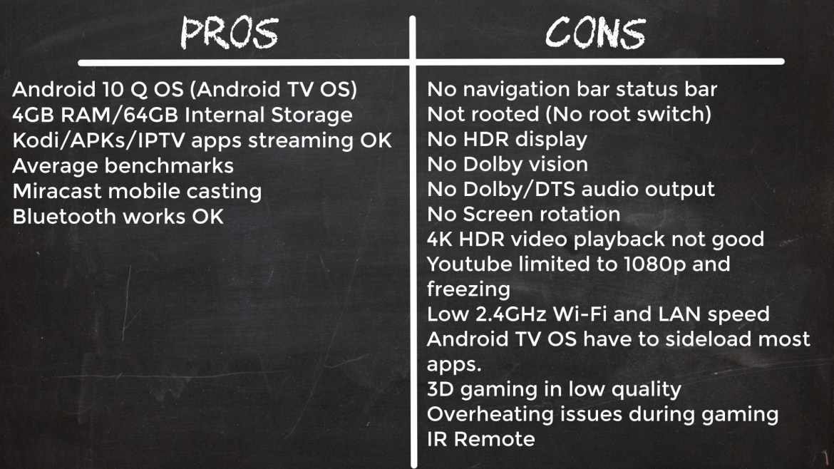 X96 Mate pros and cons