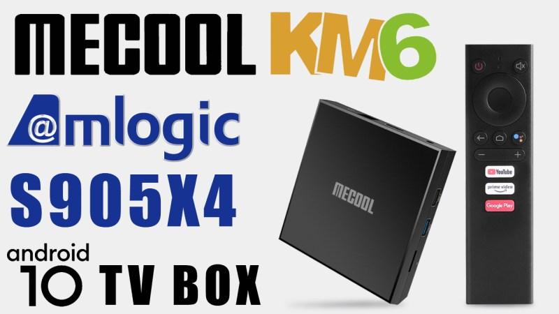Mecool KM6 Classic S905X4 TV Box