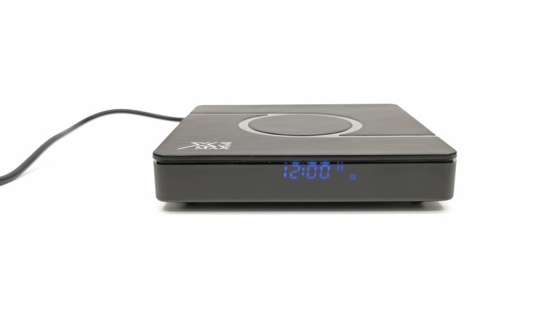 X3 Max TV box LED display
