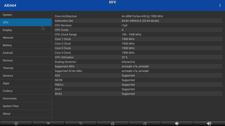 MXQ G9X3 CPU info
