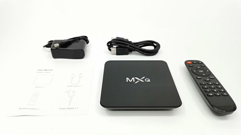 MXQ G9X3 in the box