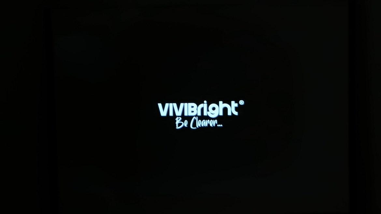 Vivibright D3000 startup screen