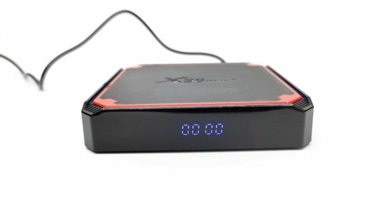 X96 Mini+ front LED display