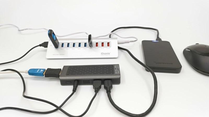 T6 Pro Mini PC Stick FydeOS Experiment