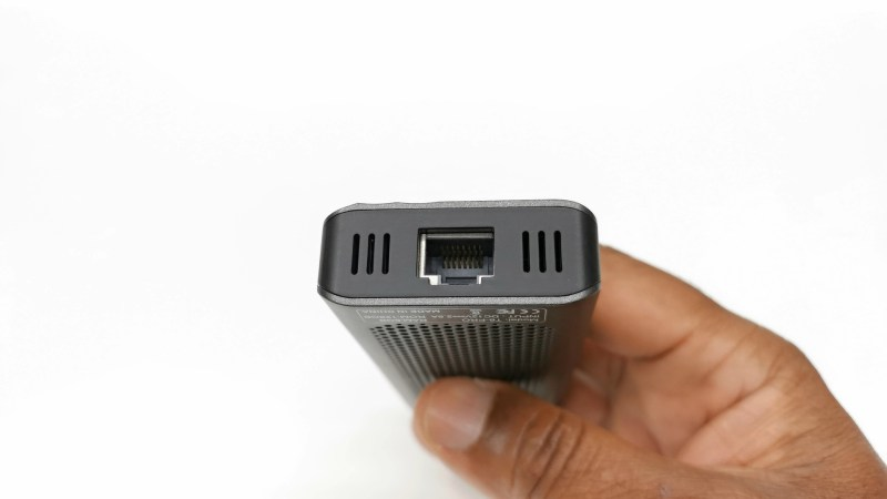 T6 Pro Mini PC Stick LAN port