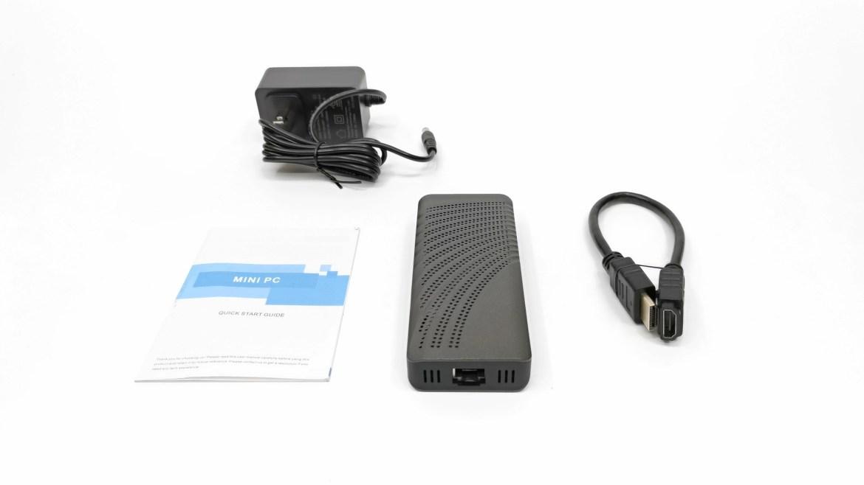 T6 Pro Mini PC Stick in the box
