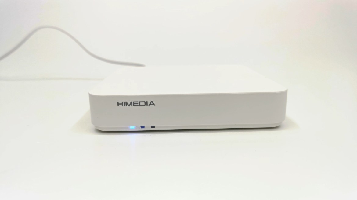 HiMEDIA S500 front LED display