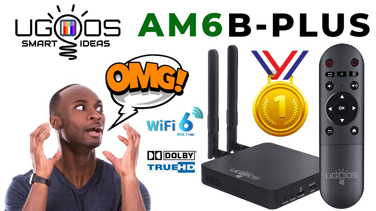Ugoos AM6B Plus TV Box
