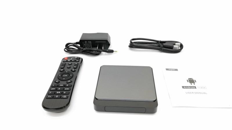 X3 Pro TV Box IN the box