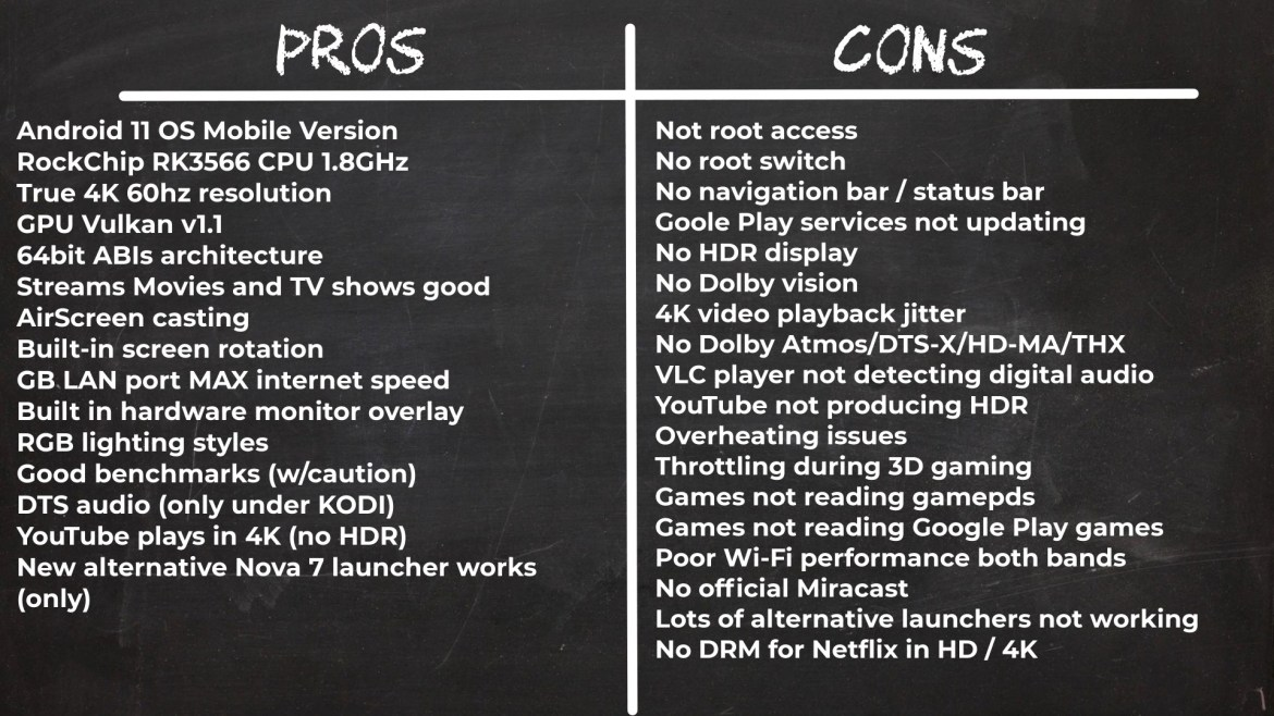 T95 Plus Pros and Cons