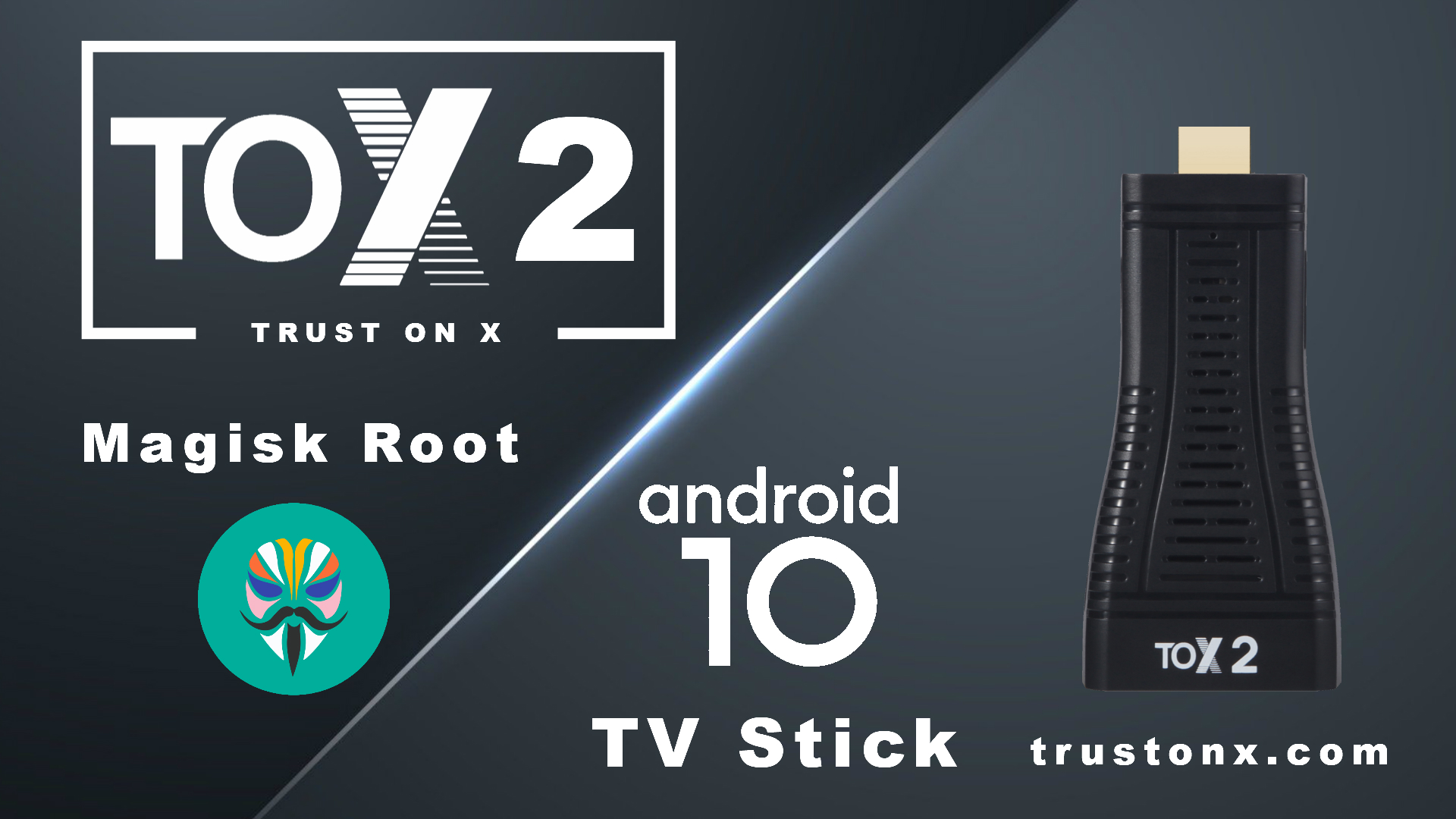 TOX2 Android 10 TV Stick