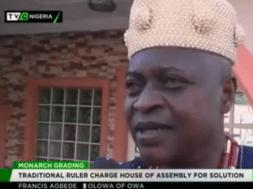 Olowa of Igbaraoke, Oba Francis Agbede - TVC