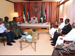 Buhari Security meeting