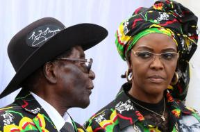 Grace and Robert Mugabe - TVC
