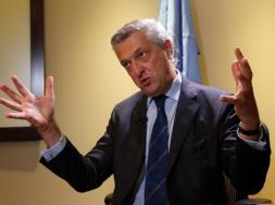 U.N. High Commissioner for Refugees (UNHCR) Filippo Grandi -TVC
