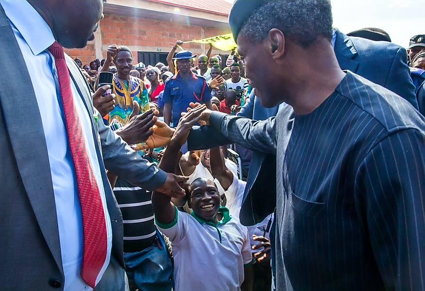 Osinbajo arrives Benue, visits flood victims