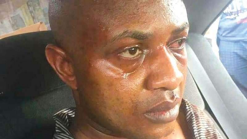 Evans' in-law floors police in court