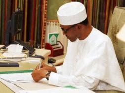 Buhari-writing - TVC