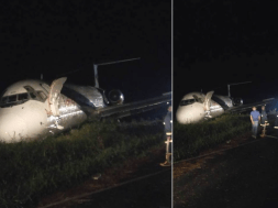Scores of passengers today escaped death by the whiskers when a Dana aircraft encountered challenges as it attempted to land at the Port Harcourt international airport.