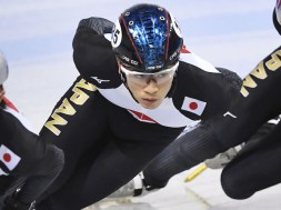 Japan speed skater Saito