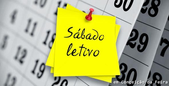AVISO AOS ESTUDANTES: 06/05/17 – Sábado Letivo na Rede Municipal de Ensino em Conceição da Feira