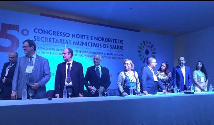 SAÚDE: Conceição da Feira bem representada no 5º Congresso Norte de Nordeste de Secretarias Municipais de Saúde em Porto Seguro