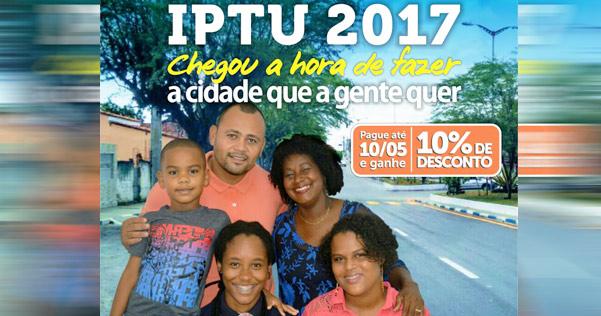 IPTU: Contribuintes em Conceição da Feira que pagar até esta quarta-feira (10/05) terão desconto de 10%