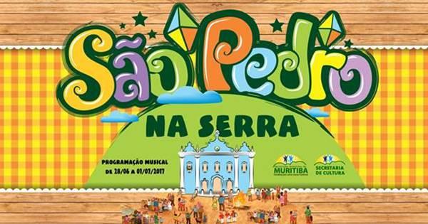 Confira a programação musical do São Pedro na Serra 2017 em Muritiba