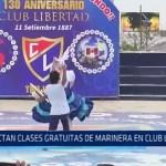 Dictan clases gratuitas de marinera en Club Libertad