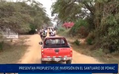Chiclayo : Presentan propuestas de inversión en el santuario de Pómac