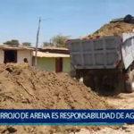 Piura: Ronsabilizan a Agrorural por arena contaminada