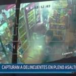 Trujillo: Capturan a delicuentes en pleno asalto a bodega