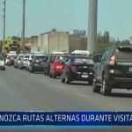Trujillo: Conozca rutas alternas durante visita del Papa