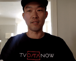 Hoon Ra, COO and Co-founder of TVDataNow