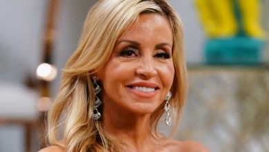 Photo of Camille Grammer Says Denise Richards Hasn't Quit RHOBH, Calls Out Lisa Rinna: 'How About Calling Her'