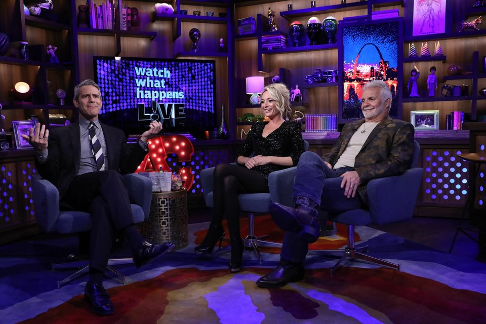 Andy Cohen, Kate Chastain, Captain Lee Rosbach, Below Deck, Bravo, Watch What Happens Live, WWHL