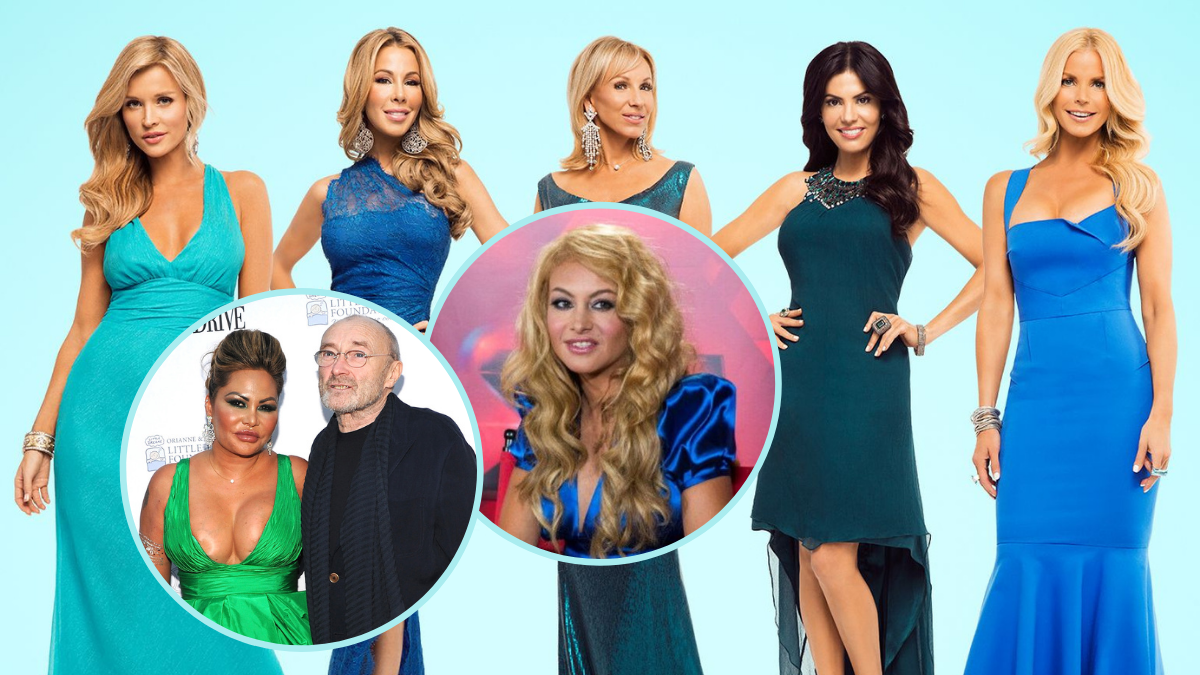 The Real Housewives of Miami Season 4, RHOM Season 4, Andy Cohen, Peacock, Bravo TV, Bravo, Phil Collins, Orianne Cevey, Paulina Rubio