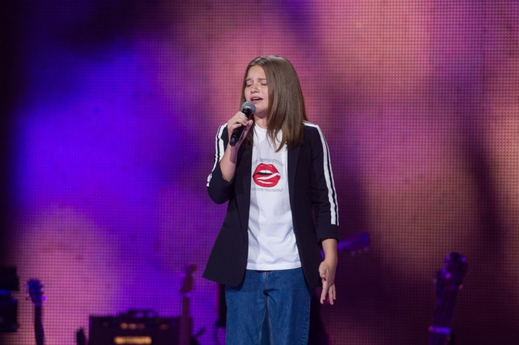 The Voice Kids 2 - Elena Ewangelopulu