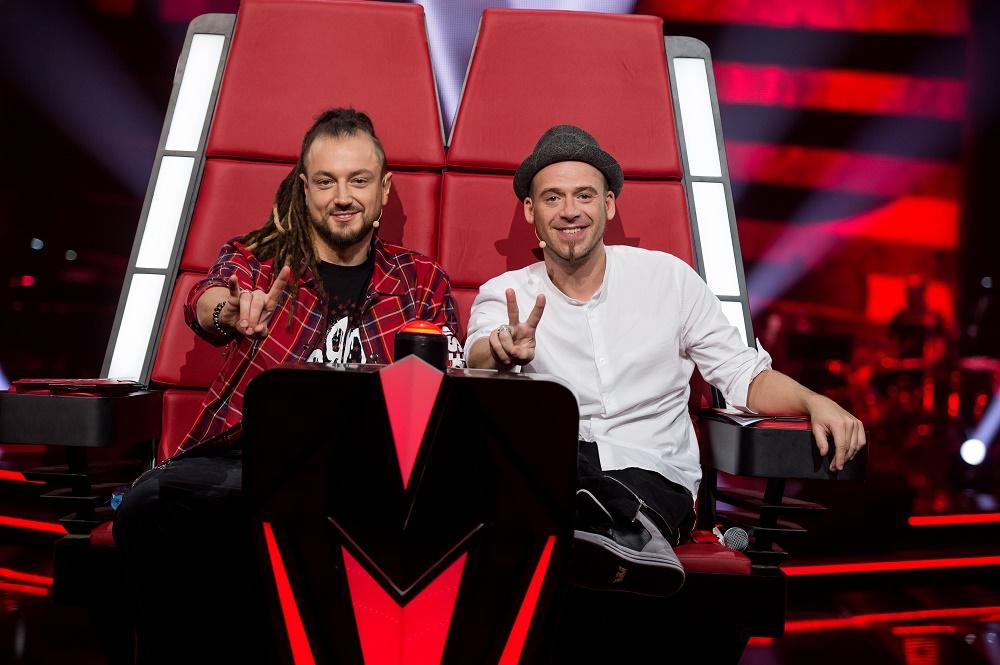 """The Voice of Kids"" jury (fot. TVP)"