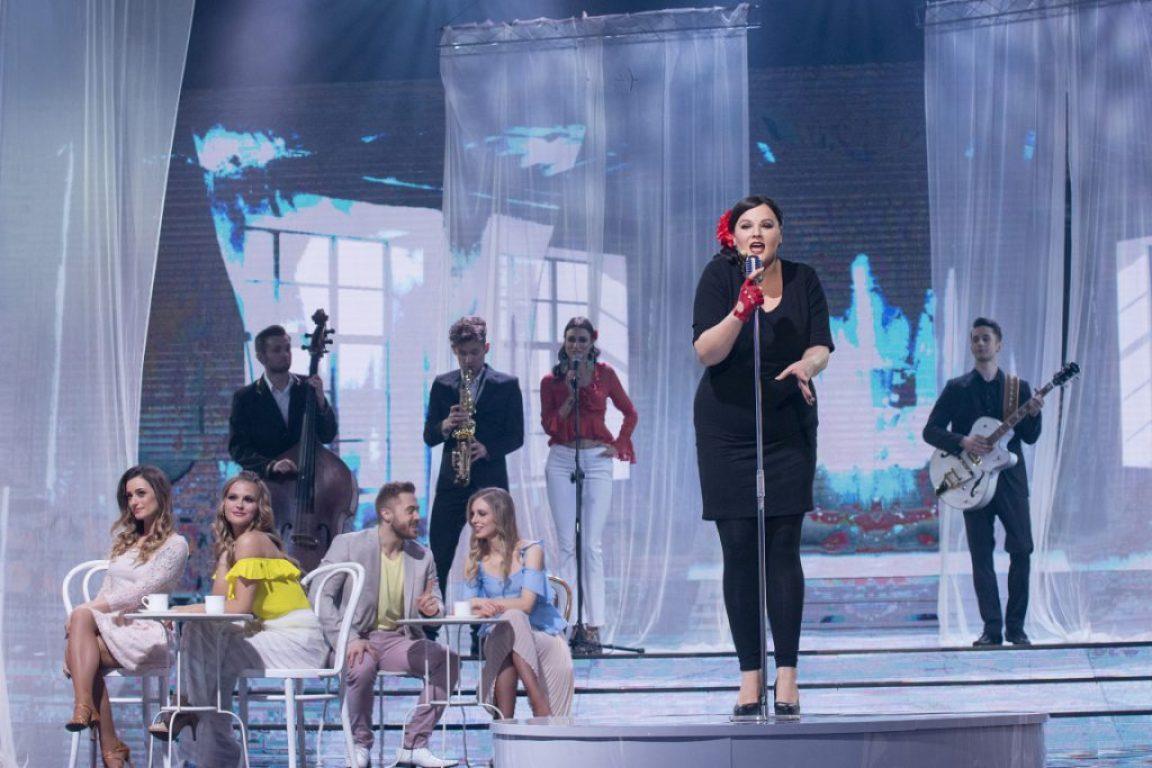 TTBZ: Ela Romanowska jako Caro Emerald (fot. M.Zawada)