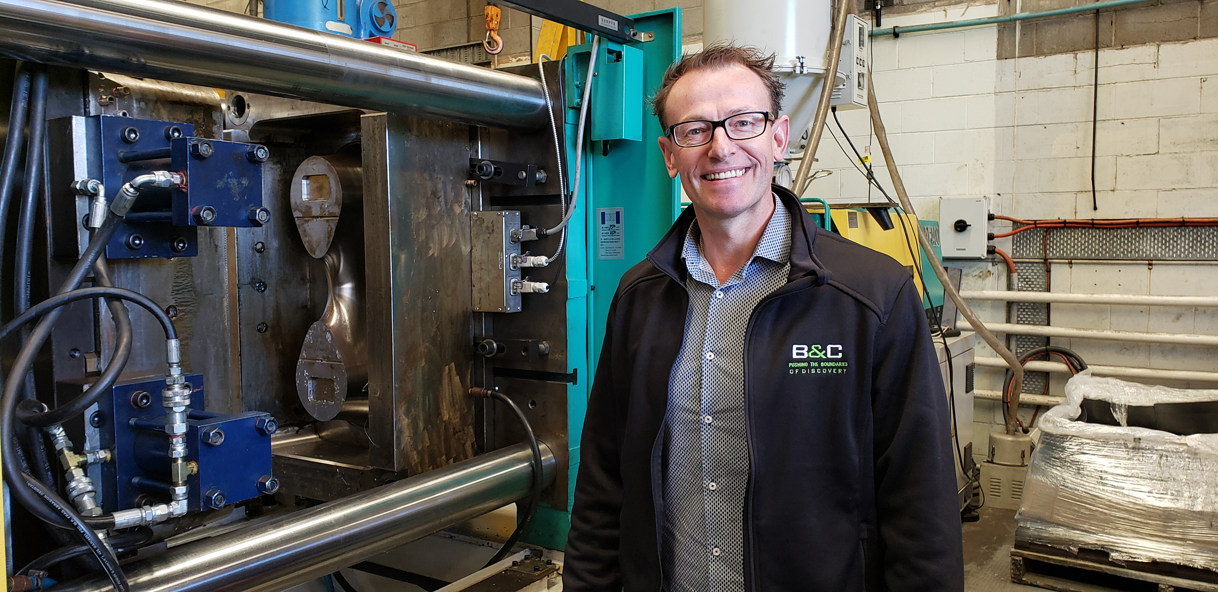 Royston Kent – A plastics manufacturer for recycled materials